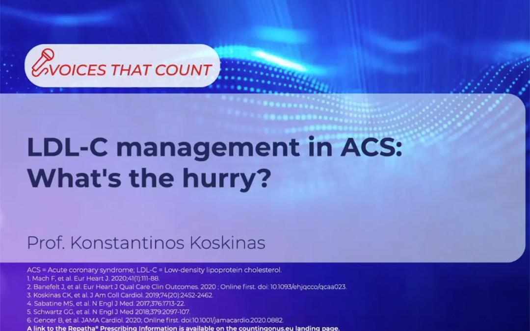 LDL-C management in ACS