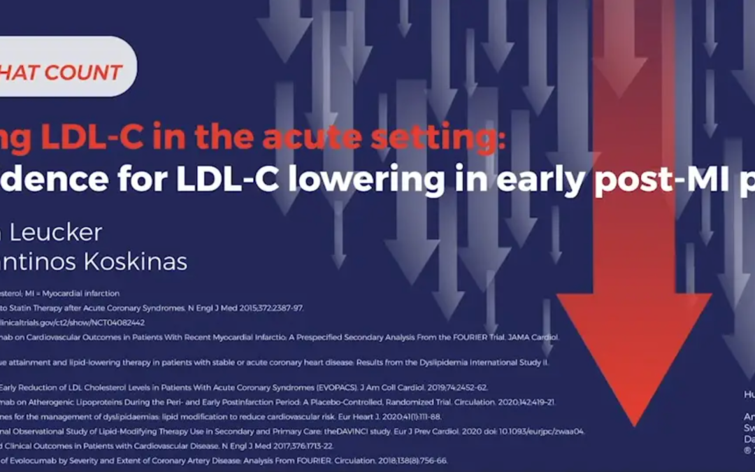Targeting LDL-C in the acute setting